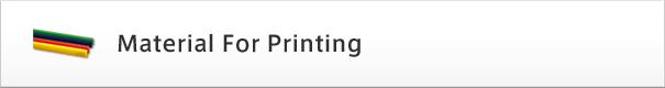 Material for Printing