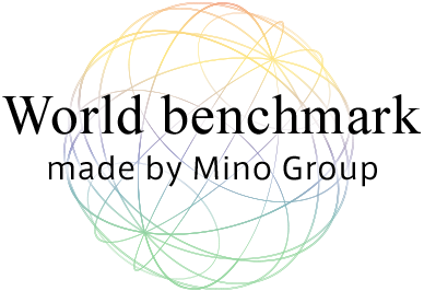 World benchmark made by Mino Group