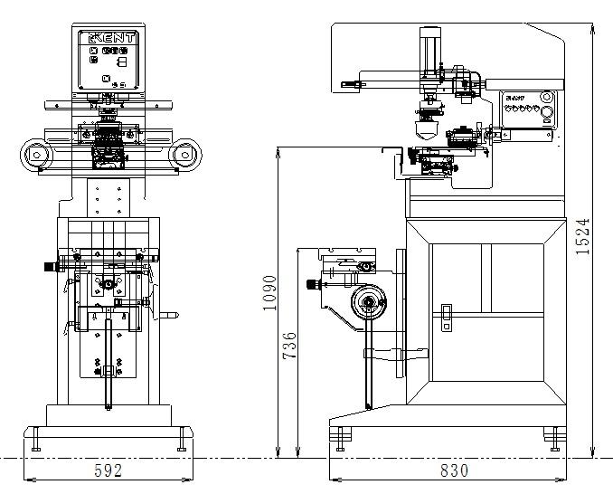 HVA-150外形図
