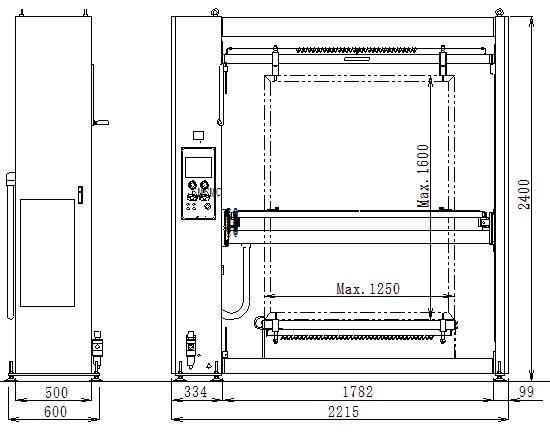 MCM12501600外形図