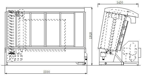 全自動水洗式MSP2外形図