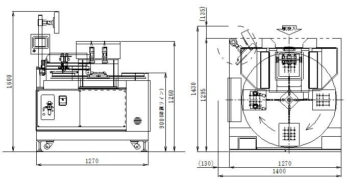 ファスターTTP-1515-MIP外形図